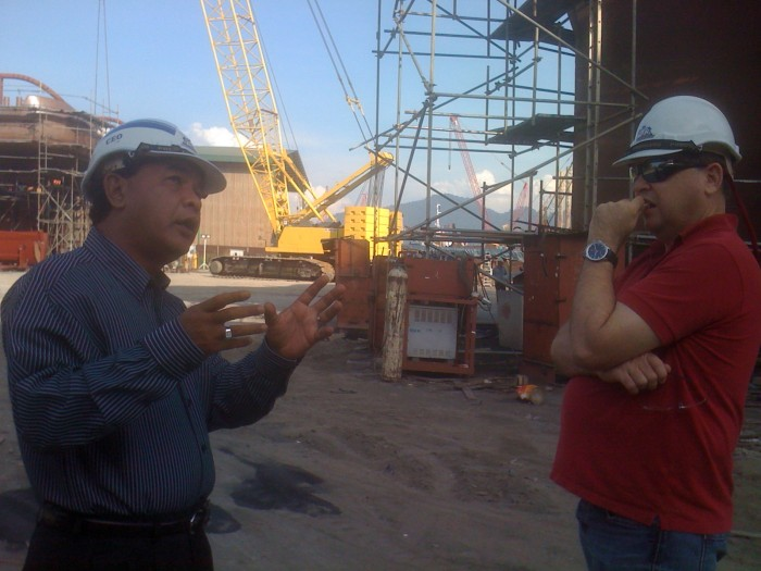 Site visit to Grade One Lumut by CEO - Gordon Hargreave dated 24 June 2011