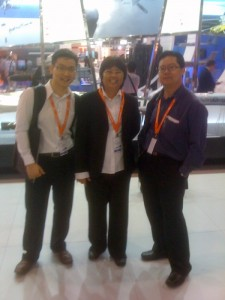 IMDEX 2011 visit  IMDEX 2011 visit by Contraves team dated 18 May 2011